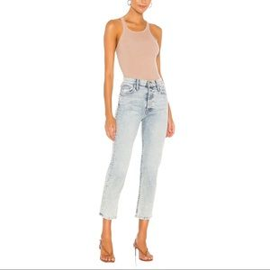 NWT MOTHER the Tomcat Straight Leg Jeans